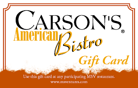 carson s gift card mainstreet ventures
