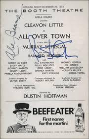 Mayor Abraham D. Beame - Show Bill Signed co-signed by: Barnard Hughes |  HistoryForSale Item 314589