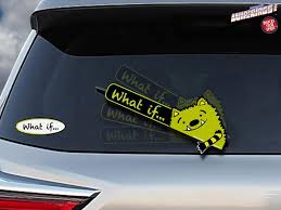 Whatif Monster Wipertags Attach To Rear Vehicle Wipers Wipertags