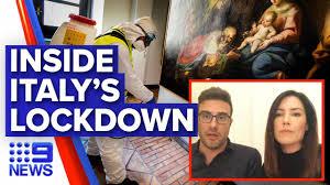 Life under Italy's lockdown ...