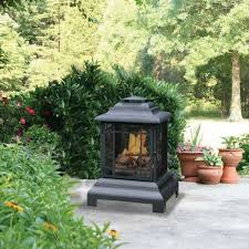 fire pit backyard patio fireplace deck