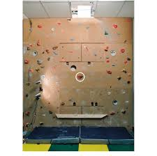 climbing wall with the hand hold