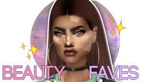 sims 4 cc beauty faves highlighter
