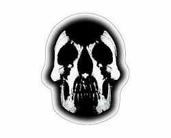 Deftones Skull Sticker Sticky Vinyl Decal For Laptop Wall Car Etc Ebay