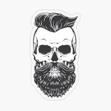 Beard Stickers Redbubble