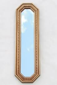 trio of gold framed mirrors vintage