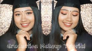 graduation makeup tutorial rosy