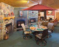 gas fireplaces wood stoves patio