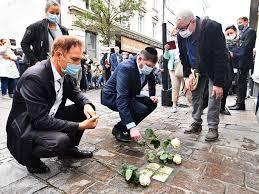 Fotos: Stolpersteine in Lörrach erinnern an Opfer des Nationalsozialismus -  Lörrach - Fotogalerien - Badische Zeitung