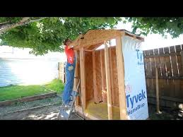 how to build a shed you