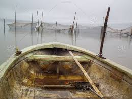 Boat in foggy weather,dam the tejocotal, water boats, reflection ...