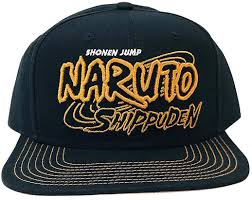Amazon.com: Ripple Junction Naruto Shippuden Adult Unisex 3D Logo Flat Bill  Snap Back Hat OS Black: Clothing