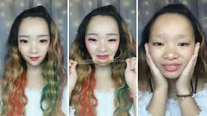women remove their makeup