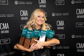 Meghan Patrick Leads the Way at 7th Annual CMAOntario Awards