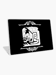 Anjanath Monster Hunter World Laptop Skin By Hunnymonsta Redbubble