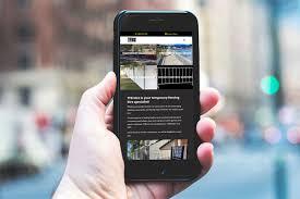 Temporary Fencing Hire Brisbane Website In 2020 Portfolio Web Design Landscaping Company Website Design