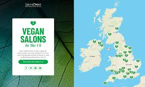 launched a vegan salon map of the uk