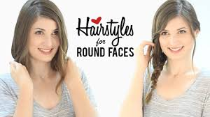 haircuts and hairstyles for round faces