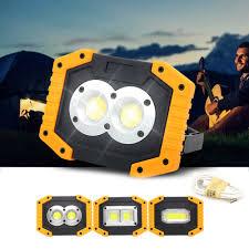 Giá Rẻ 30W USB Di Động Sạc Đèn Led Làm Đèn Khẩn Cấp Đèn Pha Tìm Kiếm W839  W840 W841 Vàng COB Ánh Sáng Cho Đèn Cắm Trại mới|