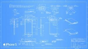 iphone 5 blueprint wallpapers