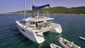 crewed catamarans sailing yachts