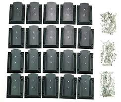 Buying Guide Kastforce Kf4011 20pcs Deck Railing Brackets Connectors For