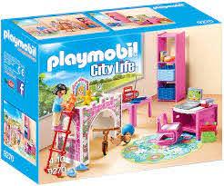 Amazon Com Playmobil Children S Room Building Set Toys Games