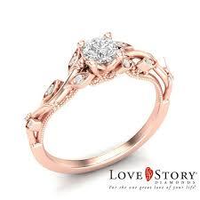 love story vine style diamond