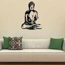 Vinyl Wall Sticker Buddha Wall Decal Buddha Silhouette India Asian Spiritual Awakened One Home Decor Wall Decals Art Wall Decals Canada From Chairdesk 15 09 Dhgate Com
