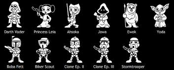 Boba On Board Star Wars Family Car Decals Geekologie