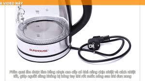 ẤM SIÊU TỐC THỦY TINH 1.7L SUNHOUSE SHD1217 in 2020 | In ear headphones,  Electronic products, Ear