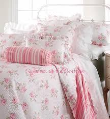 cottage ruffle eyelet lace sheet set