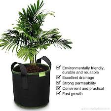 grow bags for plant flower tomato black