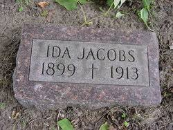 Ida Jacobs (1899-1913) - Find A Grave Memorial