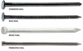 types of nails the