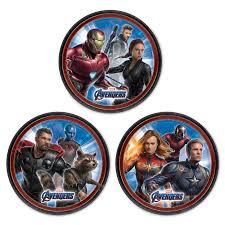 Marvel S Avengers Endgame Dessert Plates Cumpleanos De Los