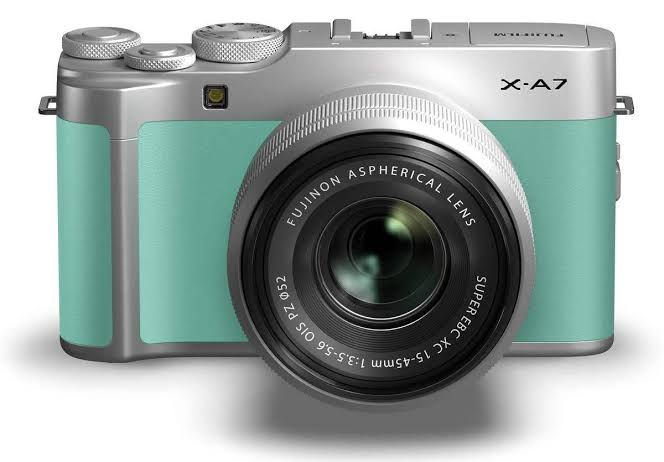 Image result for fujifilm xa7 mint green""