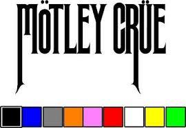 Motley Crue Music Band Vinyl Die Cut Car Decal Sticker Free Shipping Ebay