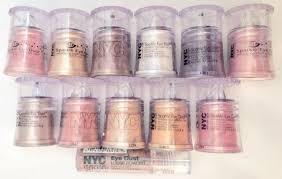 nyc sparkle eye dust shadow brush on
