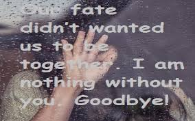 sad goodbye quotes samplemessages blog