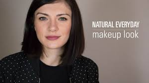 natural everyday makeup look the