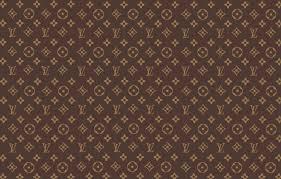 brown patterns fon louis vuitton