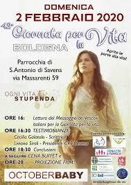 42esima Giornata per la Vita a Bologna