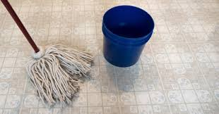 how to deep clean linoleum floors