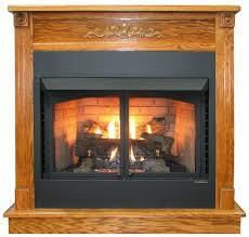 buck stove deluxe mantel dark oak