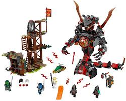 Amazon.com: LEGO NINJAGO Dawn of Iron Doom 70626: Toys & Games