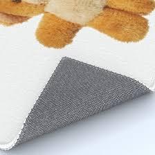furry teddy bear rug by siloto society6