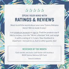 ratings reviews tommybahama