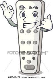 call me cartoon remote control of air