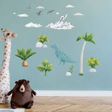 The Cutest Tyrannosaur T Rex Wall Stickers For Happy Kids Room Made Of Sundays